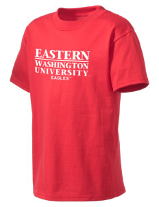 Eastern Washington University Eagles Kid's Lightweight T-Shirt
