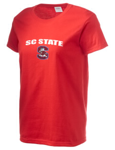 South Carolina State University Bulldogs Women's 6.1 oz Ultra Cotton T-Shirt