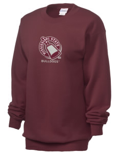 Mississippi State University Bulldogs Unisex 7.8 oz Lightweight Crewneck Sweatshirt