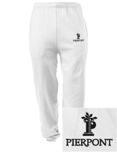 Pierpont Community & Technical College C&TC Embroidered Men's Sweatpants with Pockets