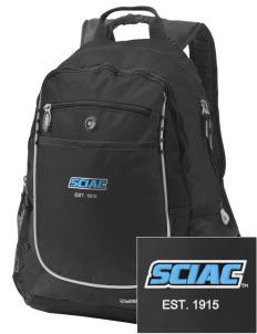 SCIAC Est. 1915 Embroidered OGIO Carbon Backpack