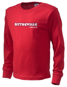 Blytheville  Kid's Long Sleeve T-Shirt