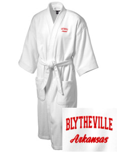 Blytheville Embroidered Terry Velour Robe