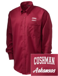 Cushman  Embroidered Men's Nailhead Non-Iron Button-Down