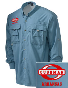 Cushman Embroidered Men's Explorer Shirt with Pockets