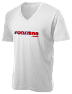 Foreman Alternative Men's 3.7 oz Basic V-Neck T-Shirt