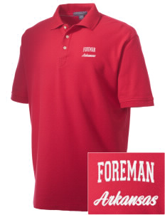 Foreman Embroidered Men's Performance Plus Pique Polo