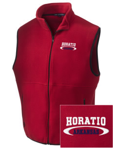 Horatio Embroidered Men's Fleece Vest