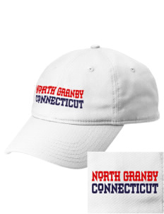North Granby  Embroidered New Era Adjustable Unstructured Cap