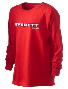 Everett Kid's 6.1 oz Long Sleeve Ultra Cotton T-Shirt