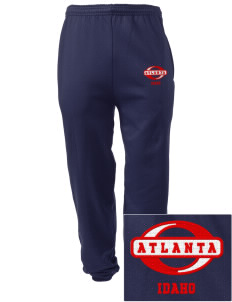 Atlanta Embroidered Men's Sweatpants with Pockets