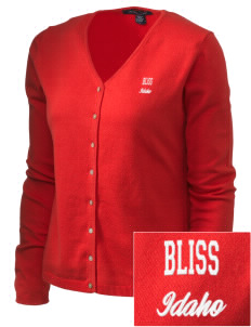 Bliss Embroidered Women's Stretch Cardigan Sweater