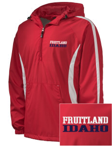 Fruitland Embroidered Men's Colorblock Raglan Anorak