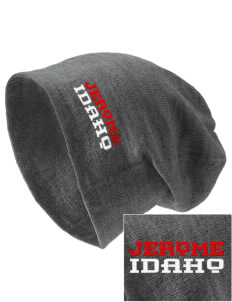 Jerome Embroidered Slouch Beanie