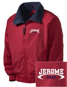 Jerome Embroidered Men's Fleece-Lined Jacket