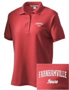Farnhamville Women's Embroidered Silk Touch Polo