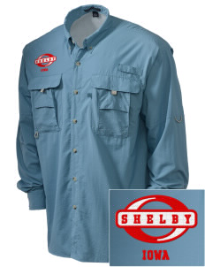 Shelby Embroidered Men's Explorer Shirt with Pockets