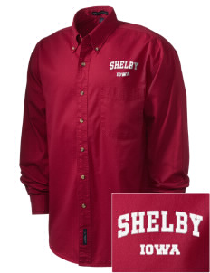 Shelby Embroidered Men's Twill Shirt