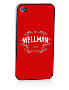 Wellman Apple iPhone 4/4S Skin