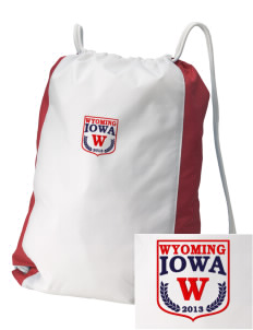 Wyoming Embroidered Holloway Home and Away Cinch Bag