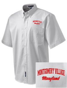 Montgomery Village Embroidered Men's Easy Care Shirt
