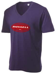 Russell Alternative Men's 3.7 oz Basic V-Neck T-Shirt