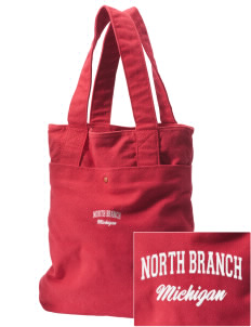 North Branch Embroidered Alternative The Berkeley Tote