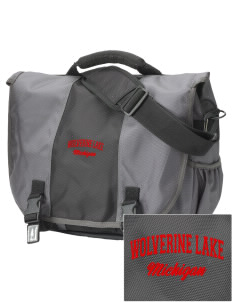 Wolverine Lake  Embroidered Montezuma Messenger Bag