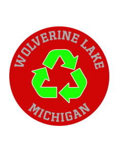Wolverine Lake Sticker