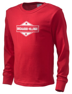 Birchwood Village  Kid's Long Sleeve T-Shirt