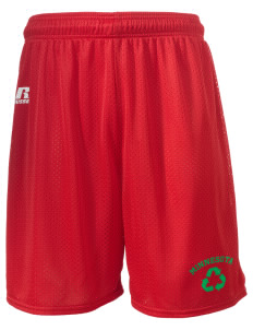"Sandstone  Russell Men's Mesh Shorts, 7"" Inseam"