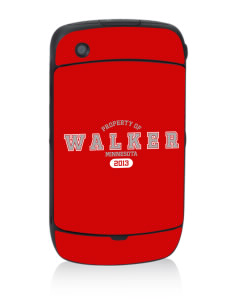Walker Black Berry 8530 Curve Skin