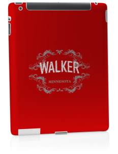 Walker Apple iPad 2 Skin
