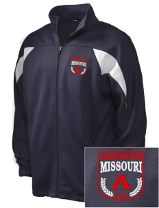 Anniston Embroidered Holloway Men's Full-Zip Track Jacket