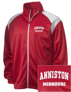 Anniston Embroidered Men's Tricot Track Jacket