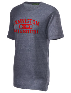 Anniston Embroidered Alternative Unisex Eco Heather T-Shirt