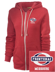 Frontenac Embroidered Alternative Unisex The Rocky Eco-Fleece Hooded Sweatshirt