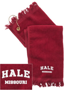 Hale  Embroidered Grommeted Finger Tip Towel