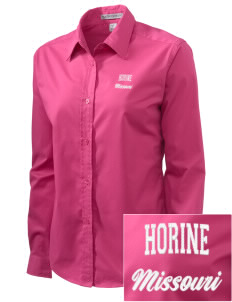 Horine Embroidered Women's Easy-Care Shirt