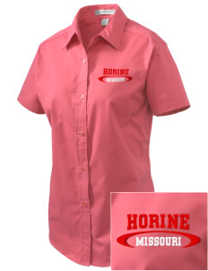 Horine Embroidered Women's Easy Care Short Sleeve Shirt