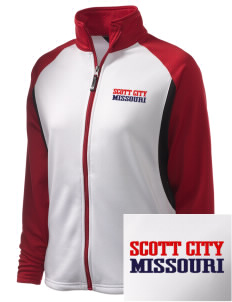 Scott City Embroidered Holloway Women's Reaction Tri-Color Jacket