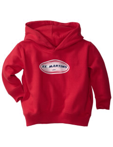 St. Martins  Toddler Fleece Hooded Sweatshirt with Pockets