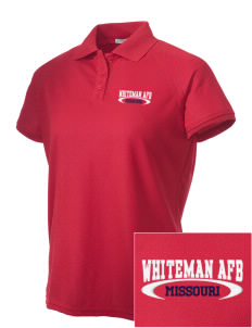 Whiteman AFB Embroidered Women's Technical Performance Polo