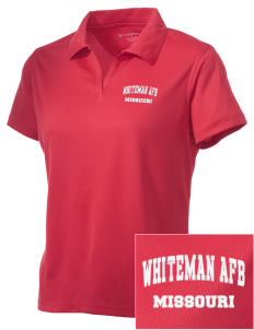 Whiteman AFB Embroidered Women's Double Mesh Polo