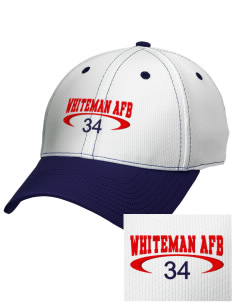 Whiteman AFB Embroidered New Era Snapback Performance Mesh Contrast Bill Cap