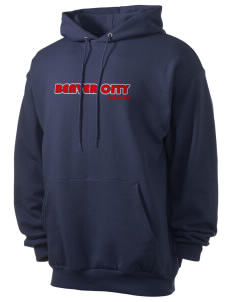 Beaver City Men's 7.8 oz Lightweight Hooded Sweatshirt