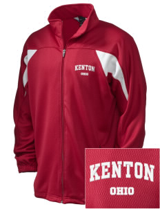 Kenton Embroidered Holloway Men's Full-Zip Track Jacket