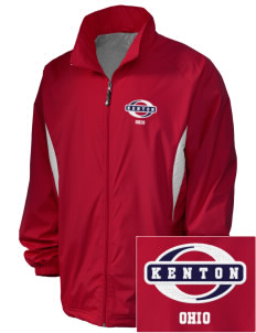 Kenton Embroidered Holloway Men's Full-Zip Jacket