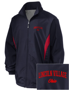 Lincoln Village Embroidered Holloway Men's Full-Zip Jacket