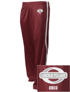 Lincoln Village Embroidered Holloway Men's Tricotex Warm Up Pants